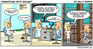 Small for HIPAA Breach Cartoon