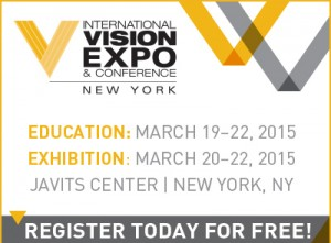 Vision Expo East FREE registration