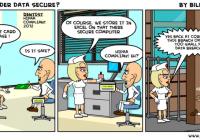 HIPAA Breach Cartoon