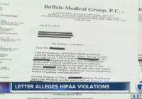 "Buffalo Medical Group Denies Alleged ""HIPPA"" Violations"